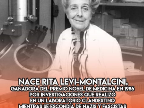 Rita Levi-Montalcini: 22 de Abril