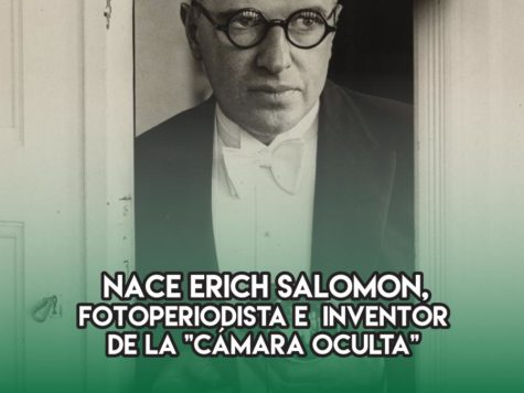 Erich Salomon: 28 de Abril