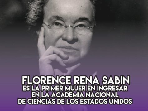 Florence Rena Sabin: 29 de Abril