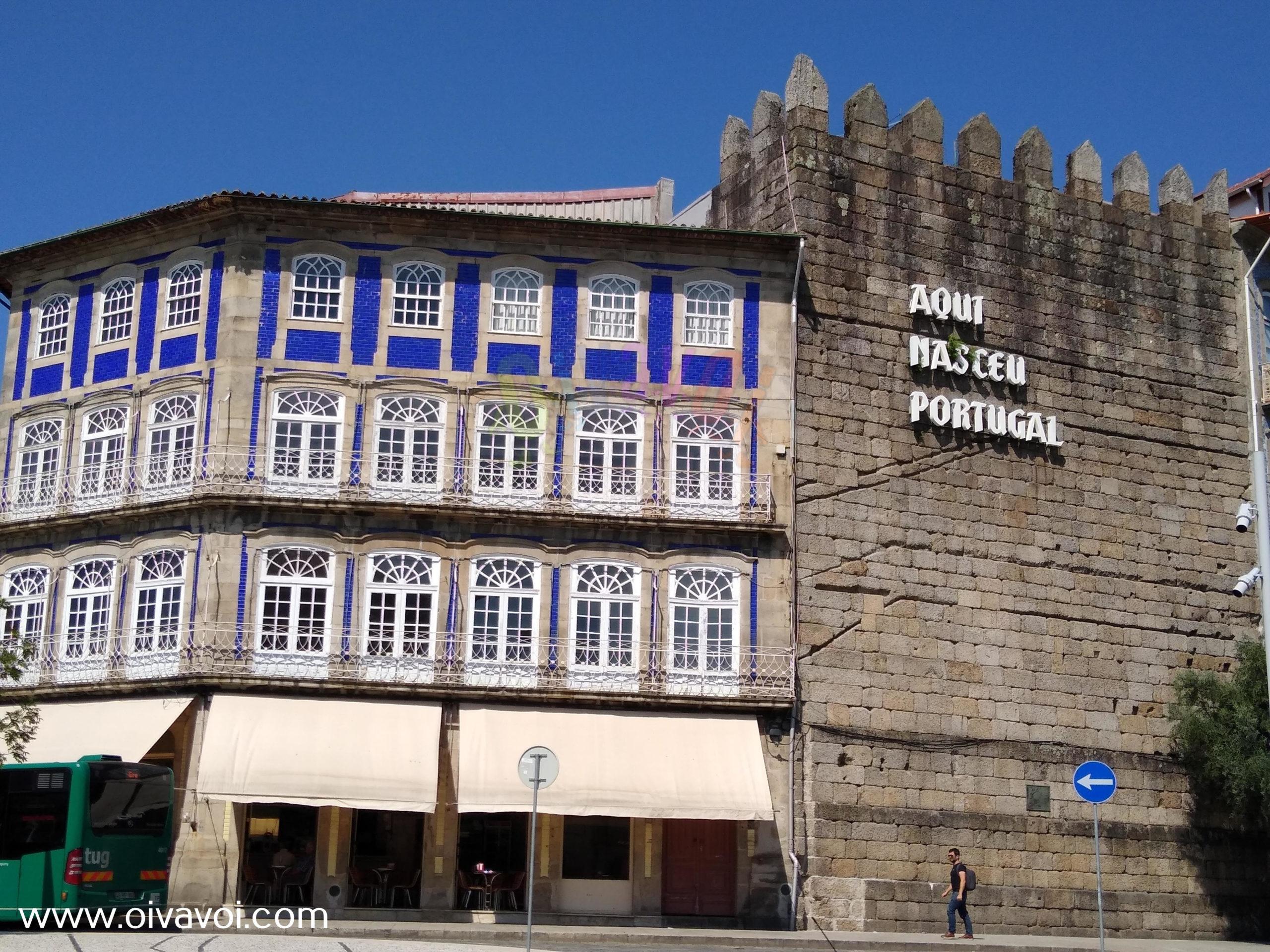 Aqui nacio Portugal en Guimaraes