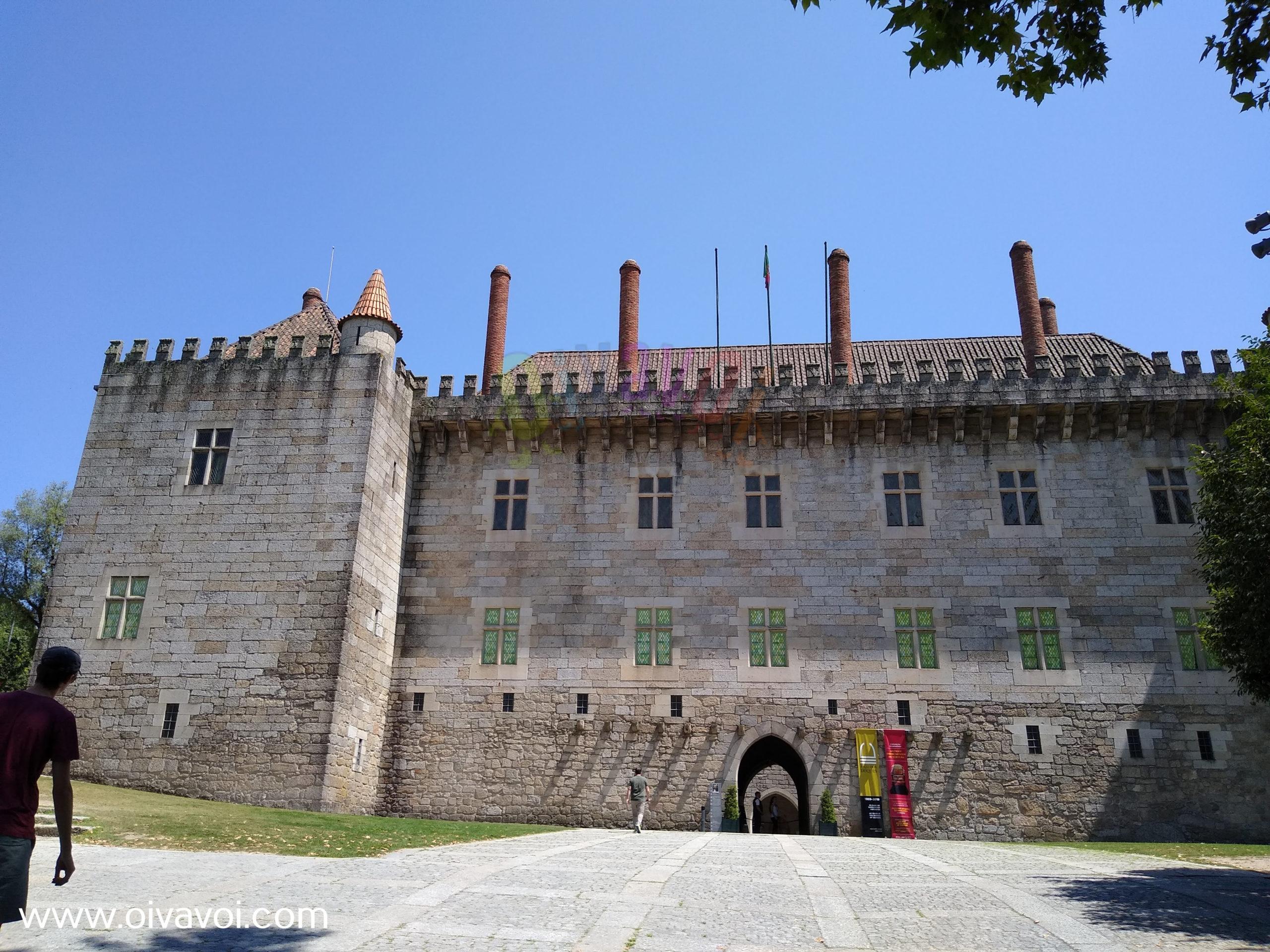 Palacio de los duques de Braganza en Guimaraes