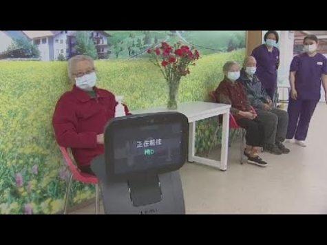 Temi, el robot amigable que lucha contra el coronavirus