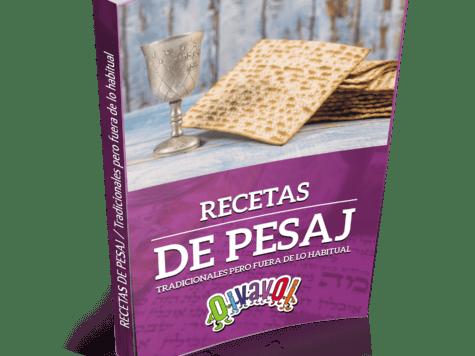 Libro gratis: Recetas de Pesaj