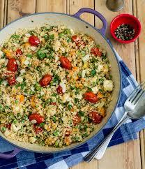 Couscous de coliflor(vegano)