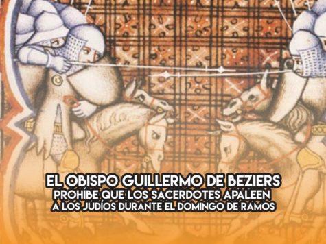 Guillermo de Beziers: 1 de Mayo