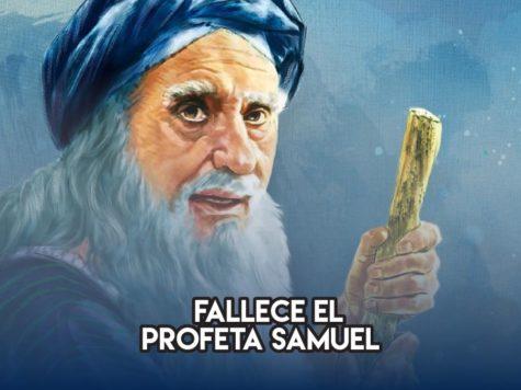 Profeta Samuel: 2 de Junio