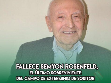 Semyon Rosenfeld, el último de Sobibor