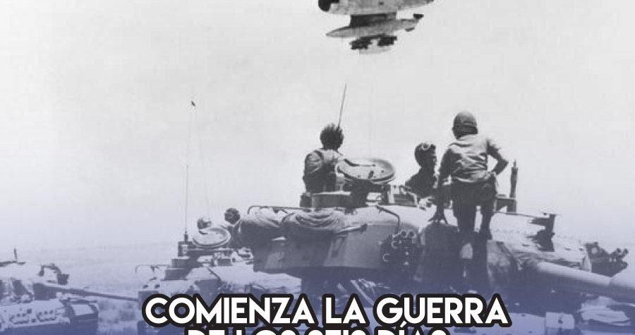 La Guerra de los Seis Días: 5 de Junio