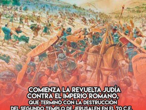 Revuelta Judía contra el imperio romano: 8 de Junio