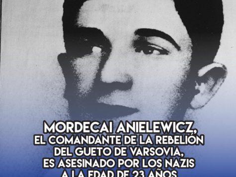 Mordecai Anielewicz: 8 de Mayo