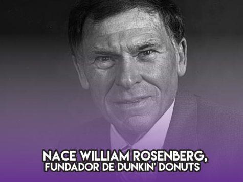 William Rosenberg, creador de Dunkin' Donuts