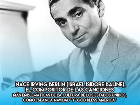 Irving Berlin: 11 de Mayo