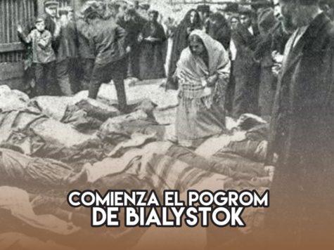Pogrom de Bialystok: 14 de junio