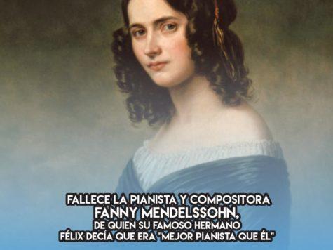Fanny Mendelssohn: 14 de Mayo