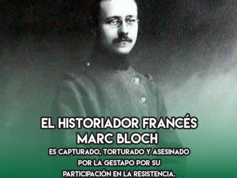 Marc Bloch: 16 de junio
