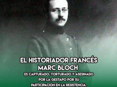 Marc Bloch: 16 de junio