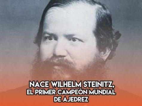 Wilhelm Steinitz: 17 de Mayo