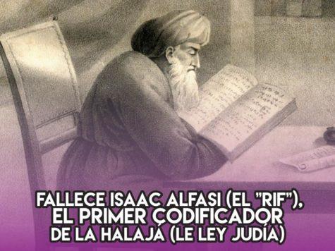 Rabi Isaac Alfasi: 19 de Mayo