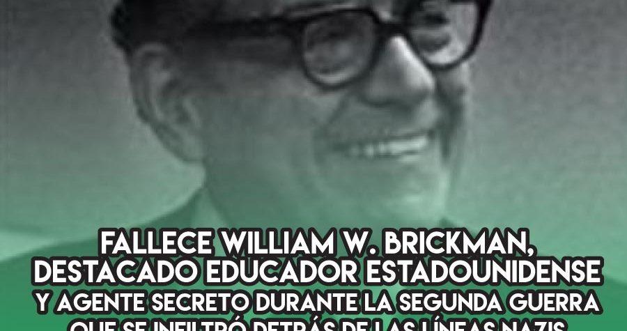 William Brickman, el agente 004