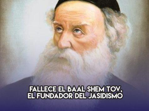 Baal Shem Tov: 22 de Mayo