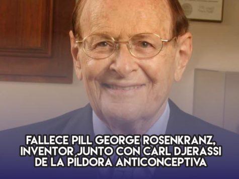 George Rosenkranz y la pildora anticonceptiva