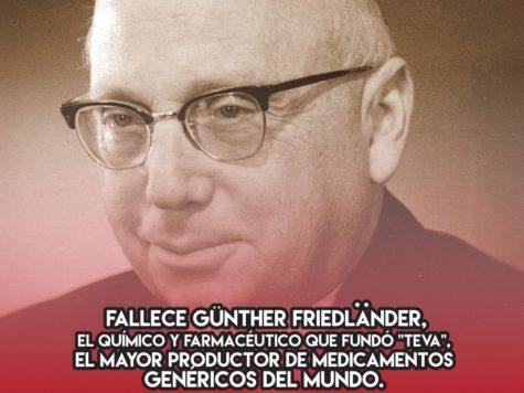 Günther Friedländer: 25 de Mayo