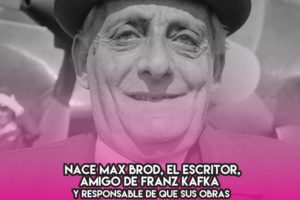 Max Brod: 27 de Mayo