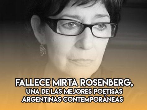 Mirta Rosenberg: 28 de junio