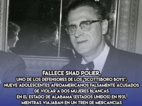 Shad Polier y los Scottsboro Boys