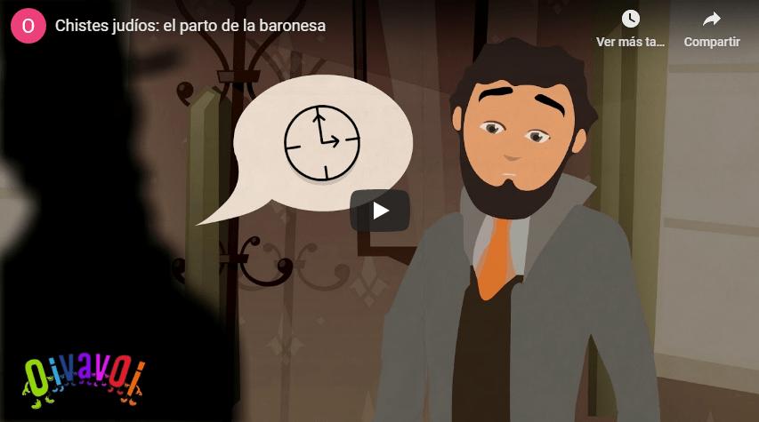 Chistes judíos: el parto de la baronesa