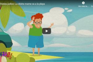 Chistes judíos: La idishe mame va a la playa