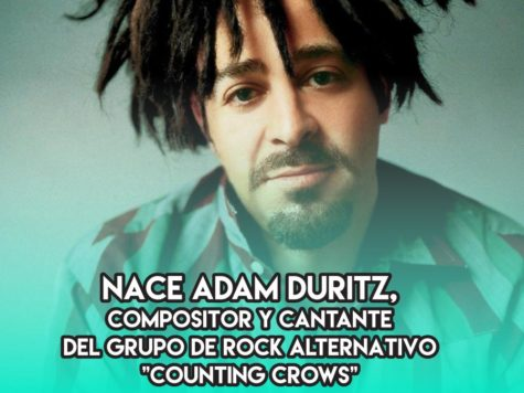 Adam Duritz y el rock alternativo
