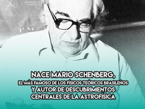 Mario Schenberg, astrofísico brasileño