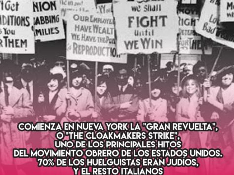"Huelga en Nueva York: ""The Cloakmakers Strike"""