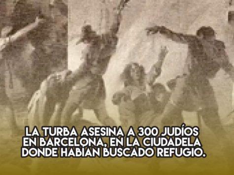 Pogrom en Barcelona: 8 de agosto