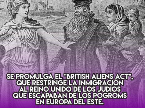 British Aliens Act: 11 de agosto