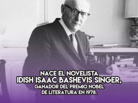Isaac Bashevis Singer: 14 de julio