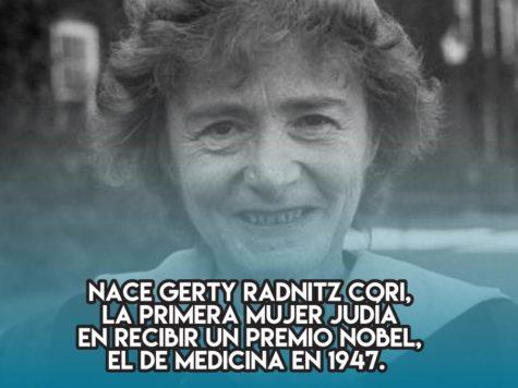Gerty Radnitz Cori, Premio Nobel de Medicina