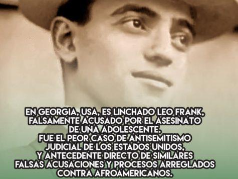 El linchamiento de Leo Frank