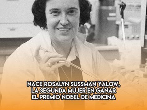 Rosalyn Sussman Yalow: las mujeres y el Nobel de Medicina