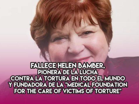 Helen Bamber y la lucha contra la tortura