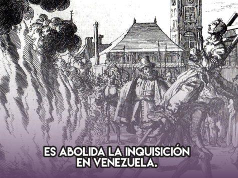 Inquisición en Venezuela: 22 de agosto