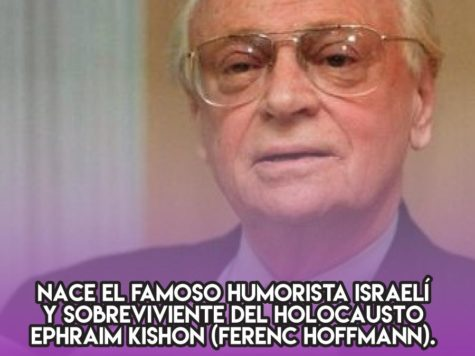 Ephraim Kishon y el humor israelí