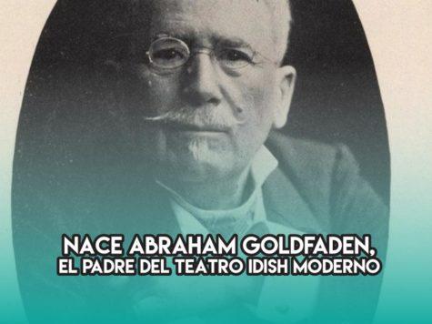 Abraham Goldfaden y el teatro idish