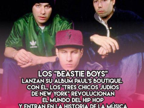 """Los """"Beastie Boys"""" y """"Paul's Boutique"""""""