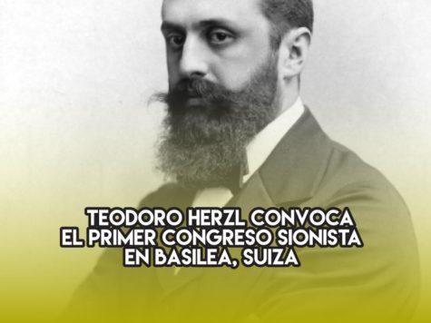 Primer Congreso Sionista: 29 de agosto