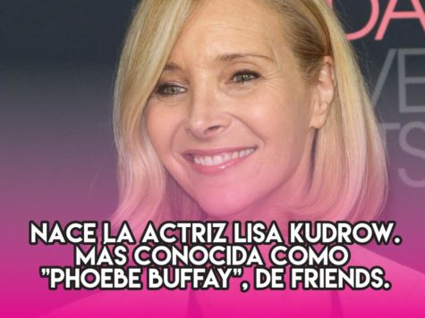 """Lisa """"Phoebe Buffay"""" Kudrow: 30 de julio"""