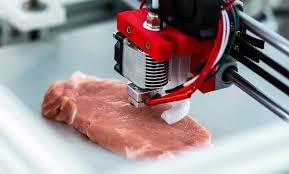La primera impresora de carne artificial ya está trabajando