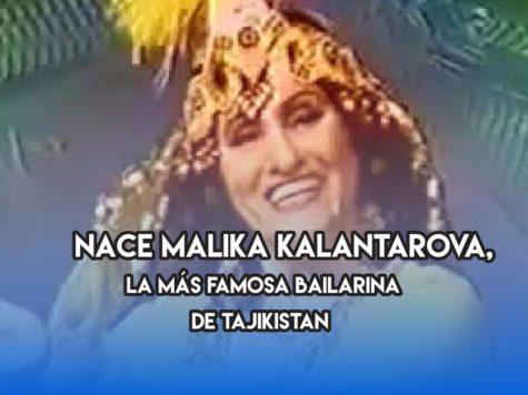 Malika Kalantarova y la danza tayika