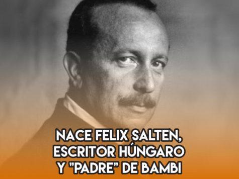Felix Salten, el creador de Bambi